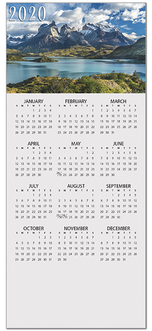 Mountain Mini Calendar D9126Q-B