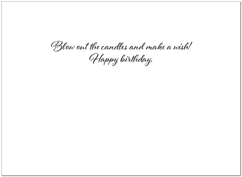 Celebrate Cupcake Birthday Card A1414U-Y