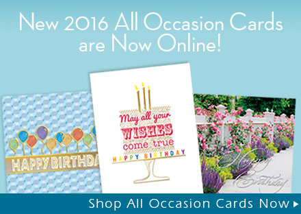 New 2016 All Occasion Cards are Now Online!