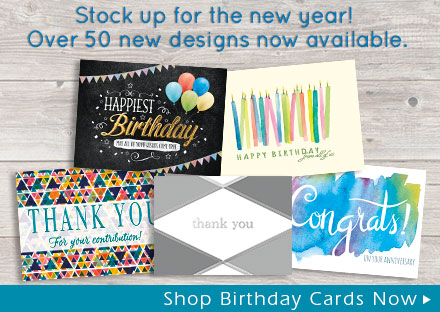 New Birthday Cards Now Available
