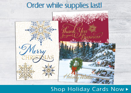 New Holiday Cards Now Available