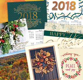 New Holiday Cards & 2018 Calendars