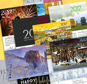 New Holiday Cards & 2017 Calendars