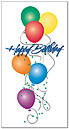 Birthday Balloons Greeting Card 439N-Z