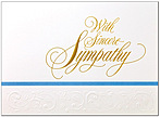 Sympathy Greeting Card R440E-W