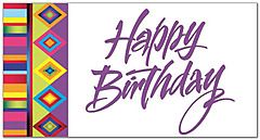 Birthday Fiesta Greeting Card 634T-Z