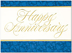 Formal Anniversary Greeting Card 635U-X