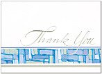Formal Thank You Greeting Card 640D-X