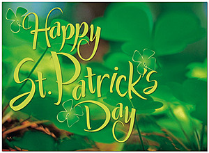 St. Patrick's Day Greeting Card 649D-Y