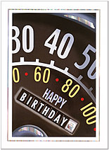 Birthday Miles Greeting Card 617U-X