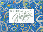 Birthday Sparkle Greeting Card 701S-W