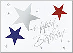 Shining Stars Birthday Card 708U-X