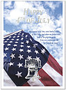 Liberty 4th of July Greeting Card 744U-X