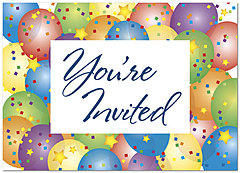 You're Invited Greeting Card 755D-Y