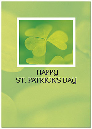 Happy St. Patrick's Day Greeting Card 758D-Y