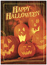 Jack O' Lanterns Halloween Card 759D-Y