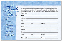 Referral Reply Postcard 762P-Z