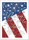 4th of July Holiday Card 846U-X