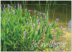 Get Well Greeting Card 854U-Y