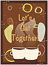 Get Together Greeting Card 855U-Y