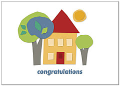 House Congratulations Card 863D-Y