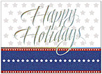 Holiday Stars Greeting Card 8542U-AA