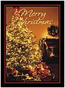 Christmas Glow Greeting Card 8548U-AA