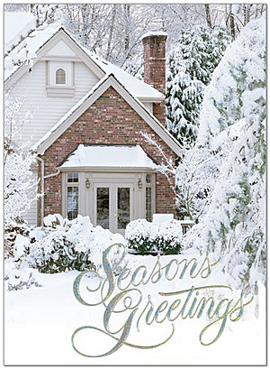 Peaceful Home Holiday Card 8549U-AA