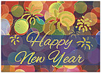 New Year Celebration Card 8553D-AA