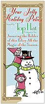 Holiday Policy Greeting Card 8561L-A