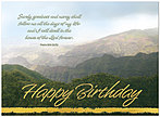 Birthday Blessings Greeting Card 915U-X