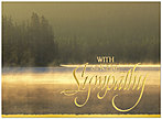 Sympathy Scene Greeting Card 938U-X