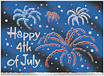Fireworks Greeting Card 940U-X