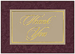 Formal Thank You Greeting Card 948D-X