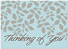 Thinking of You Leaves Greeting Card 955D-Y