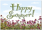 Happy Summer Greeting Card 957D-Y