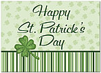 St. Patrick's Stripes Greeting Card 959D-Y