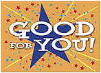 Good For You Greeting Card 961D-Y