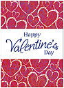 Valentine Hearts Greeting Card 966D-Y