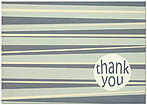 Retro Thank You Greeting Card 986KW-X