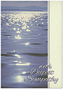 Blue Water Sympathy Greeting Card 991KW-X