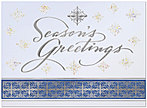 Elegant Snowflakes Holiday Card 9532S-4A