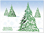 Let It Snow Holiday Card 9539S-4B