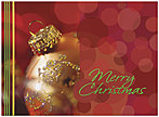 Merry Christmas Greeting Card 9545G-AAA
