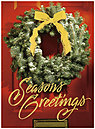 Holiday Door Greeting Card 9546G-AAA