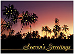 Tropical Greetings Holiday Card 9551U-AA