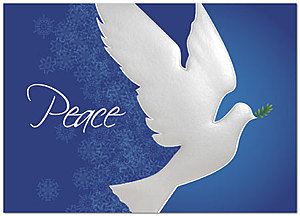 Peace Dove Holiday Card 9562D-AA