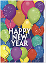 New Year Party Holiday Card 9567U-A