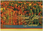 Colorful Business Thanks Thanksgiving Card 9515G-AAA