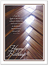 The Light Birthday Card X25U-Y